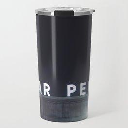 Poplar Perkins - Memphis Tn Night Photo Travel Mug