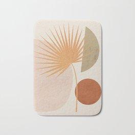 Tropical Leaf- Abstract Art 49a Bath Mat