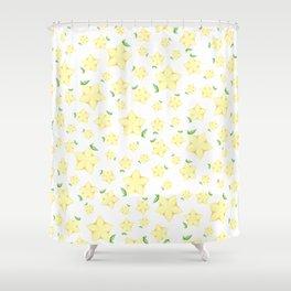 Paopu Fruit Shower Curtain