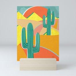 Cactus Road Mini Art Print