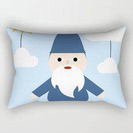 Garden Gnome Rectangular Pillow
