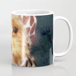 Dog | Happy Giraffe | Yorkie Puppy | Dogs | Puppies | Pets Coffee Mug