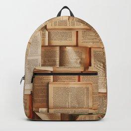 Vintage Novels (Color) Backpack