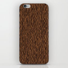 Tiki texture iPhone Skin