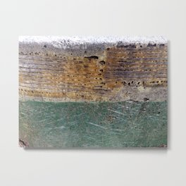 Abstract - Three of Many Metal Print