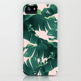 Tropical Banana Leaves #2 #tropical #decor #art #society6 iPhone Case