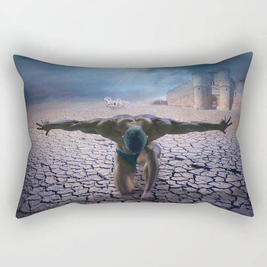 the slave  Rectangular Pillow