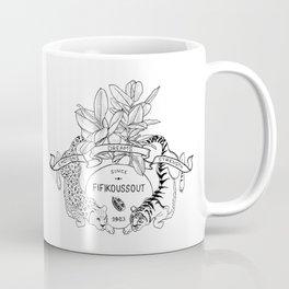 Leo & Tiger Coffee Mug