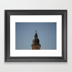 Town Hall Tower - Poland Series Framed Art Print