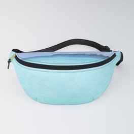 Aqua Water Island Dreams Fanny Pack