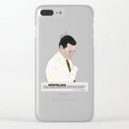 Draper Nostalgia Clear iPhone Case