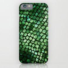 Shiny Emerald Scales Slim Case iPhone 6s