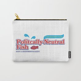 Politically Neutral Fish Carry-All Pouch