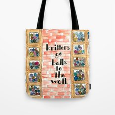 Balls to the Wall Tote Bag