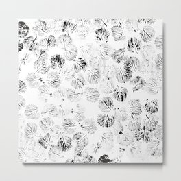 black foliage Metal Print