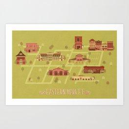 Eastern Market Art Print
