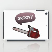 evil dead iPad Cases featuring Evil dead Groovy by Komrod