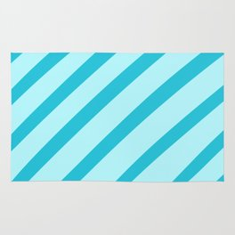 Minty Stripes Rug