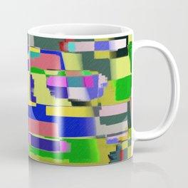 Raw Paint 3 - Colour Abstract Coffee Mug
