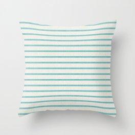 DHURBAN STRIPE AQUA Throw Pillow
