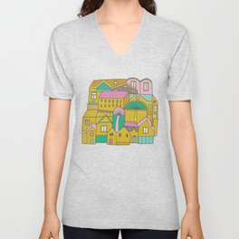 Pattern Project #2 / Happy Town Unisex V-Neck