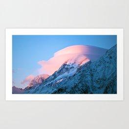 Aoraki/Mt Cook Art Print