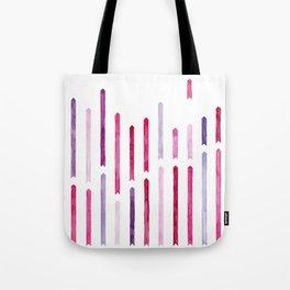 Cotton Candy Arrows Tote Bag