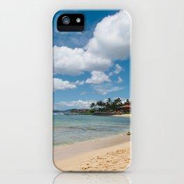 Poipu beach iPhone Case