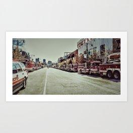 Kansas City Firefighter Pride Art Print