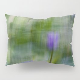 Tropical Impressionism (Purple Water Lily) Pillow Sham