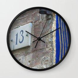 13 - Blue Starry Night Door Wall Clock