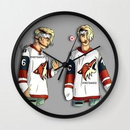JB x2 Wall Clock