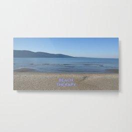 Beach Therapy Metal Print