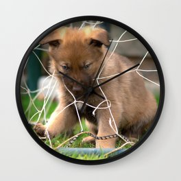 Goalkeeper of the new generation Wall Clock
