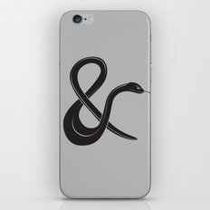 ampersssssand iPhone Skin