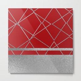 Silverado: Red Metal Print