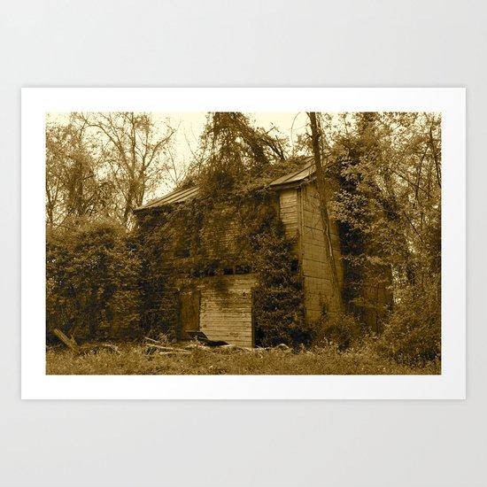 What Remains Art Print