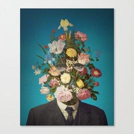 Portrait of Flowers Canvas Print