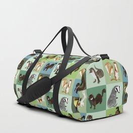 Best Nine  Mustelids from Spain Duffle Bag