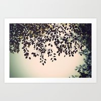 The Leaves Art Print