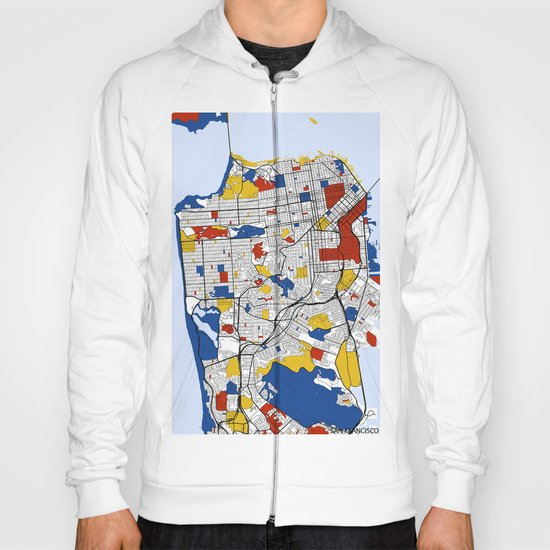San Francisco Mondrian Hoody