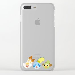 New Starters Clear iPhone Case