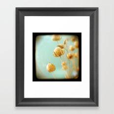 Seafoam Framed Art Print