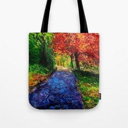 Autumn Breeze Tote Bag