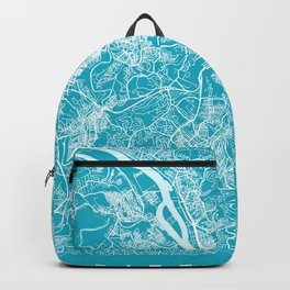 PITTSBURGH Map | Aqua | More Colors, Review My Collections Backpack