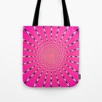 artpop Tote Bags featuring ARTPOP by Jo Veronne