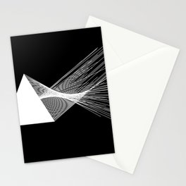 Abstraction 026 - Minimal Geometric Triangle Stationery Cards