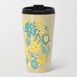 Little Flower Circle Travel Mug