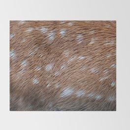 Deer Hide Throw Blanket