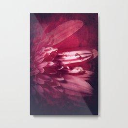 Petal Red Metal Print